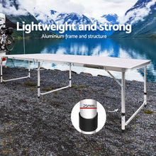 Load image into Gallery viewer, Portable Folding Camping Table 240cm - My Bonza Deals