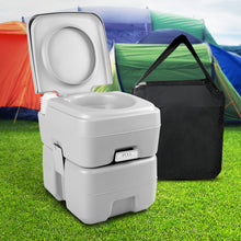 Load image into Gallery viewer, Weisshorn 20L Outdoor Portable Toilet Camping Potty Caravan Travel Boating wtih Carry Bag - My Bonza Deals