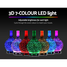 Load image into Gallery viewer, Aroma Diffuser 3D LED Light Oil Firework Air Humidifier 100ml - My Bonza Deals
