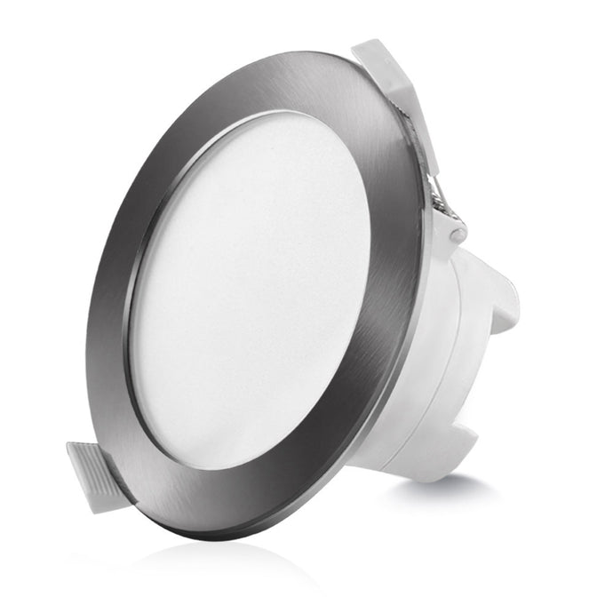 Lumey 10W 10 X LED Downlight Kit 90mm CCT Changeable Ceiling Light Globe Satin - My Bonza Deals
