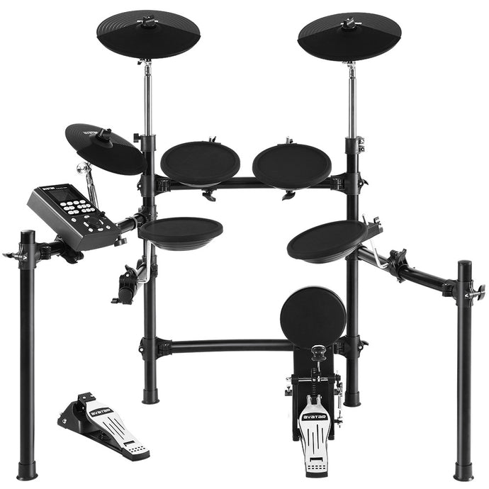 8 Piece Electric Electronic Drum Kit Drums Set Pad Tom Midi For Kids Adults - My Bonza Deals