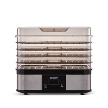 Load image into Gallery viewer, Devanti Food Dehydrator with 5 Trays - Silver - My Bonza Deals