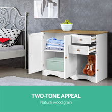 Load image into Gallery viewer, Artiss Buffest Sideboard Hallway Entrance Table - White - My Bonza Deals