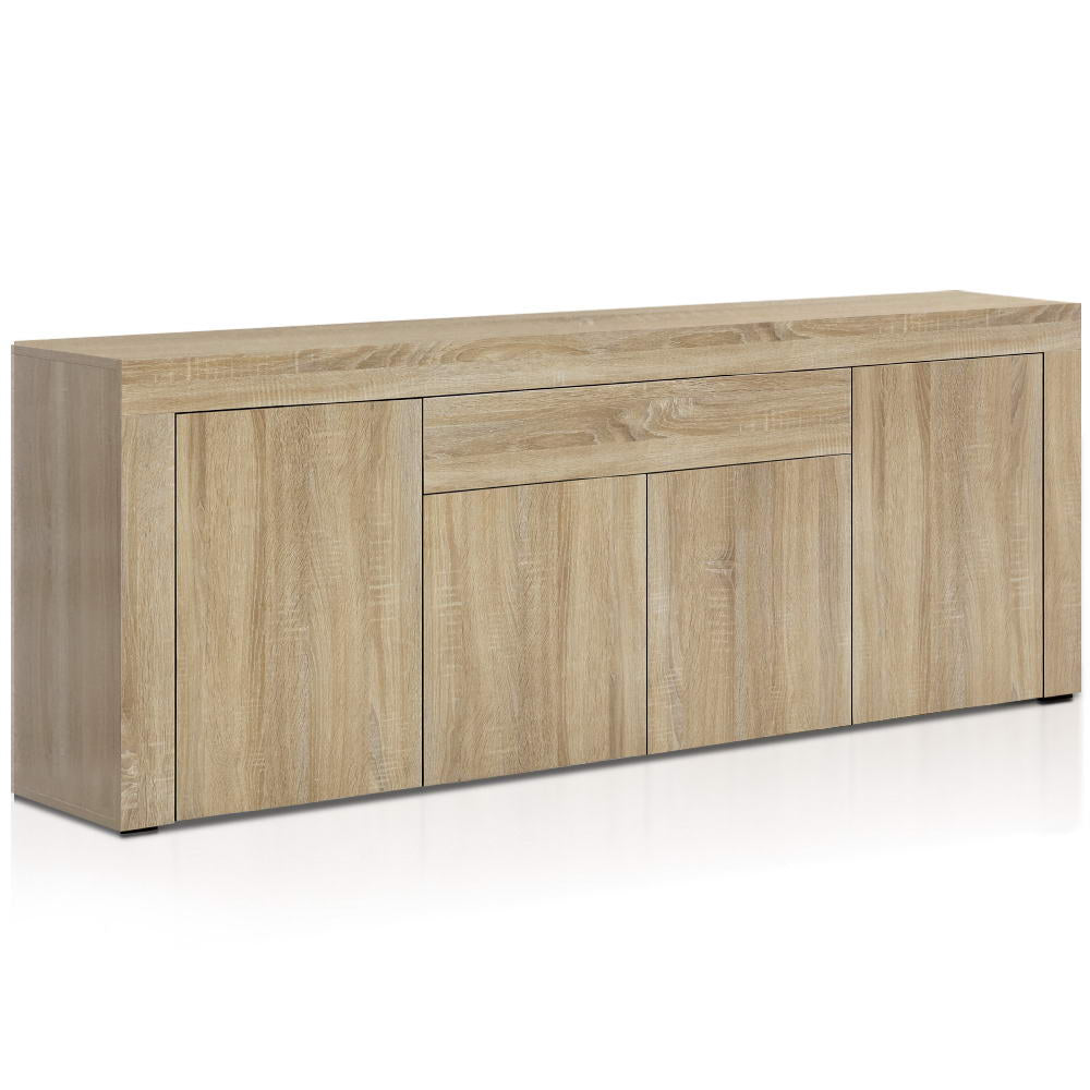Artiss Buffet Sideboard Cabinet Storage 4 Doors Cupboard Hall Wood Hallway Table - My Bonza Deals