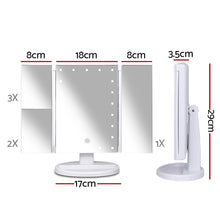 Load image into Gallery viewer, Embellir LED  Tri-Fold Make Up Mirror - My Bonza Deals
