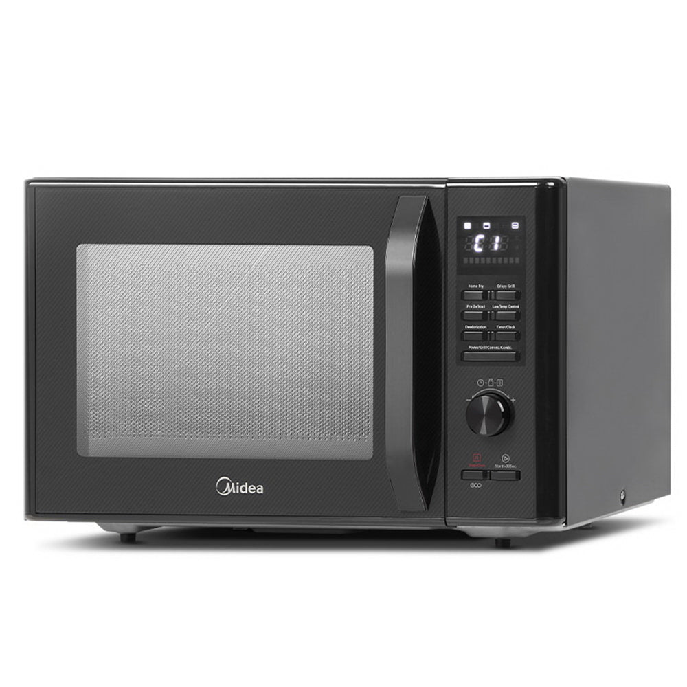 Midea 30L 2300W Electric Grill Convection Microwave Oven Benchtop Black - My Bonza Deals