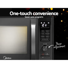 Load image into Gallery viewer, Midea 30L 2300W Electric Grill Convection Microwave Oven Benchtop Black - My Bonza Deals