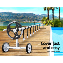 Load image into Gallery viewer, Aquabuddy Swimming Pool Cover Roller Reel Adjustable Solar Thermal Blanket - My Bonza Deals