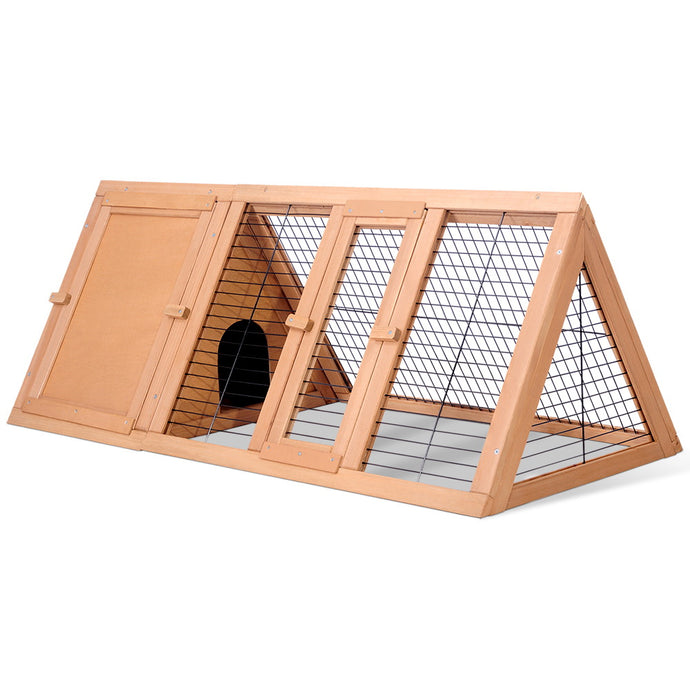i.Pet Wooden Pet Hutch - My Bonza Deals