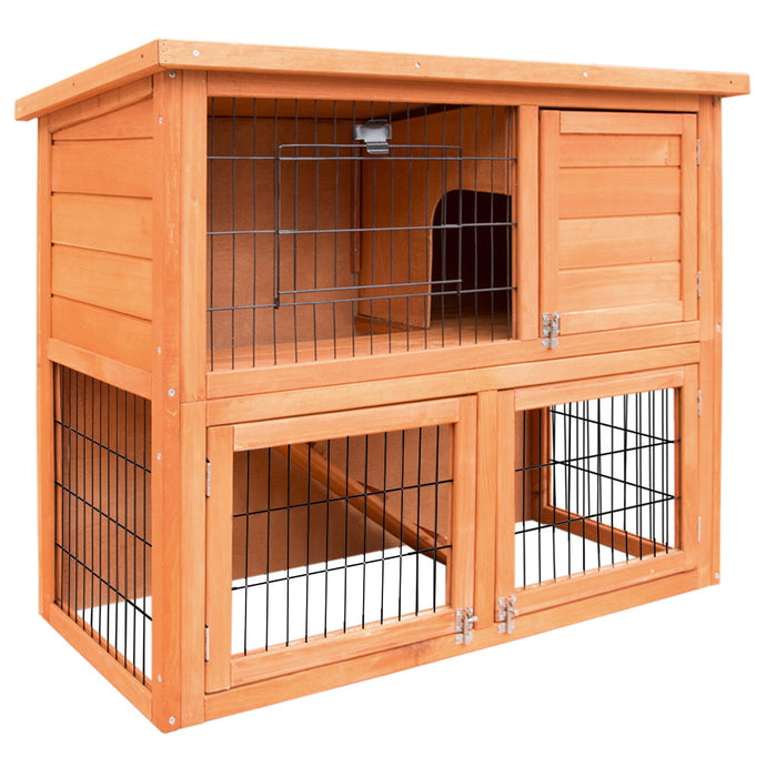 i.Pet 93cm Tal Wooden Pet Coop - My Bonza Deals