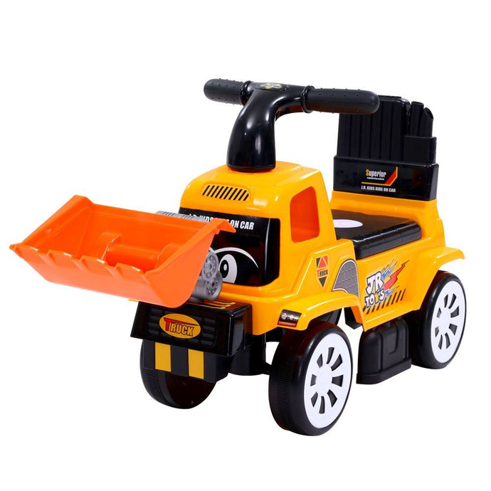 Keezi Kids Ride On Car Toys Truck Bulldozer Digger Toddler Toy Foot to Floor - My Bonza Deals