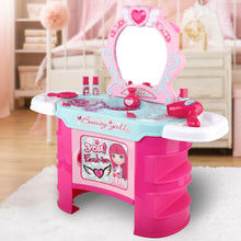 Load image into Gallery viewer, Keezi Kids Makeup Desk Play Set - Pink - My Bonza Deals
