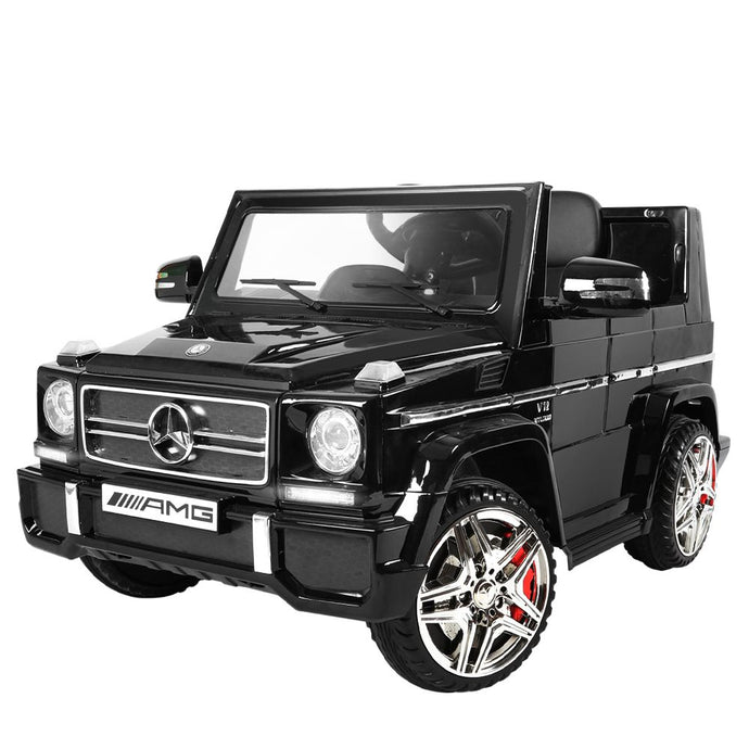 Kids Ride On Car MercedesBenz Licensed G65 12V Electric Black - My Bonza Deals