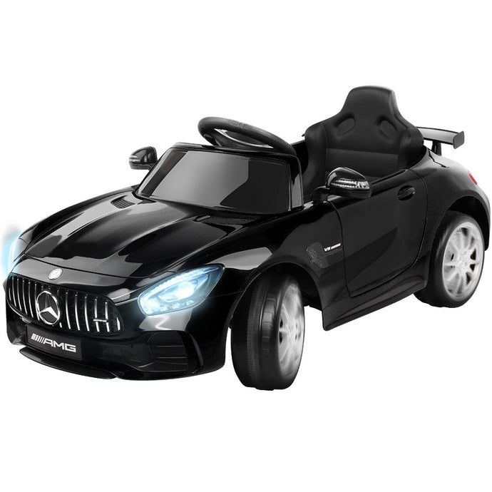 Kids Ride On Car MercedesBenz AMG GT R Electric Black - My Bonza Deals