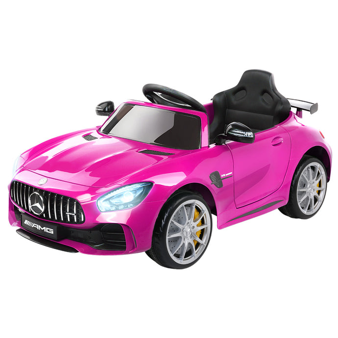 Kids Ride On Car MercedesBenz AMG GT R Electric Pink - My Bonza Deals