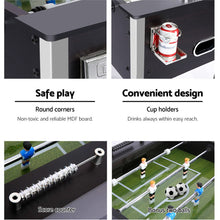 Load image into Gallery viewer, 5FT Soccer Table Foosball Football Game Home Party Pub Size Kids Adult Toy Gift - My Bonza Deals