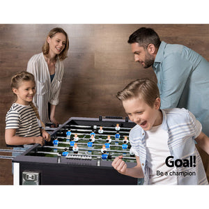 5FT Soccer Table Foosball Football Game Home Party Pub Size Kids Adult Toy Gift - My Bonza Deals