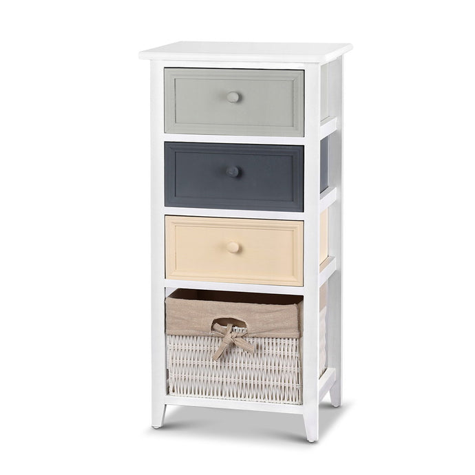 Artiss Bedroom Storage Cabinet - White - My Bonza Deals