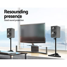 Load image into Gallery viewer, Set of 2 120CM Surround Sound Speaker Stand - Black - My Bonza Deals
