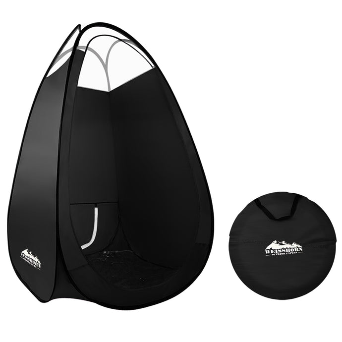 Portable Pop Up Tanning Tent - Black - My Bonza Deals