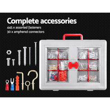 Load image into Gallery viewer, 555pcs Tool Kit Set Case Mechanics Box Kits Toolbox Portable DIY Household Repair