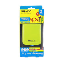 Load image into Gallery viewer, PNY POWER BANK 78S GREEN 7800MAH 2 USB OUTPUT - My Bonza Deals