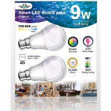 Load image into Gallery viewer, MV SMART BULB 9W B22 TWIN PACK - My Bonza Deals