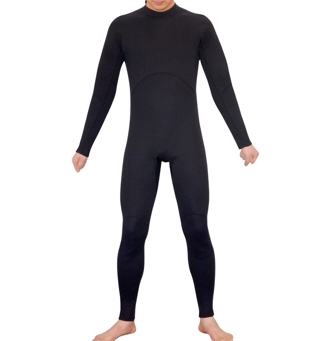 Mens Steamer Wetsuit Long Sleeve/Leg 3mm Neoprene Wet Suit - Extra Large - My Bonza Deals