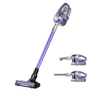 Devanti Cordless 150W Handstick Vacuum Cleaner - Purple and Grey - My Bonza Deals