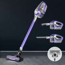 Load image into Gallery viewer, Devanti Cordless 150W Handstick Vacuum Cleaner - Purple and Grey - My Bonza Deals