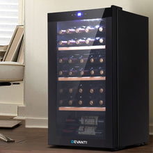 Load image into Gallery viewer, Devanti 34 Bottles Wine Cooler Compressor Chiller Beverage Fridge - My Bonza Deals