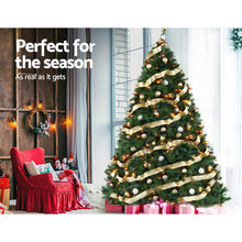Load image into Gallery viewer, Jingle Jollys Christmas Tree 2.4M 8FT Xmas Decoration Green Home Decor 2100 Tips