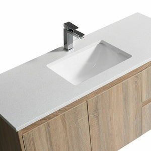 Aulic Finger Pull Bathroom Toilet Vanity Basin Storage Cabinet 600mm