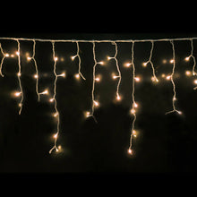 Load image into Gallery viewer, 500 LED Curtain Fairy String Lights Wedding Outdoor Xmas Party Lights Warm White