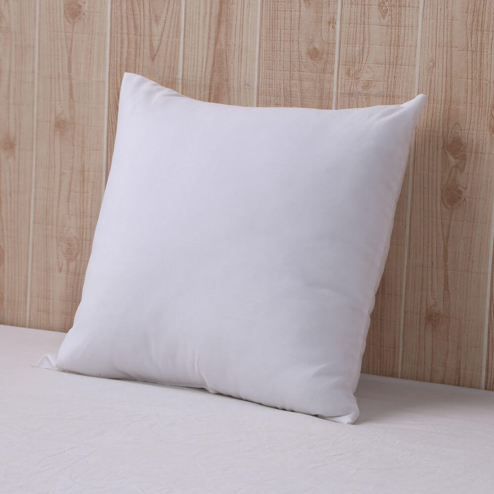 DreamZ 4 Cushion Pillow Inserts 60x60 cm White Outer Case Hypoallergenic Fibre