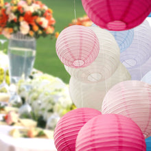 "Load image into Gallery viewer, 12"" Paper Lanterns for Wedding Party Festival Decoration - Mix and Match Colours"