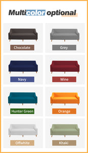 DreamZ Couch Stretch Sofa Lounge Cover Protector Slipcover 3 Seater Chocolate