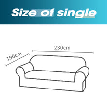 Load image into Gallery viewer, DreamZ Sofa Cover Couch Stretch Lounge Protector Slipcover 3 Seater Off White