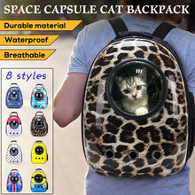 Load image into Gallery viewer, Pet Cat Carrier Bag Backpack Astronaut Space Capsule Puppy Travel Crate Cage