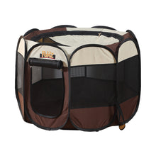 Load image into Gallery viewer, PaWz Dog Playpen Pet Play Pens Foldable Panel Tent Cage Portable Puppy Crate 42""