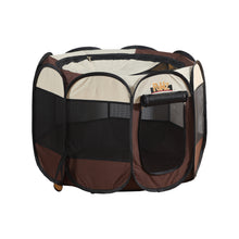 Load image into Gallery viewer, PaWz Dog Playpen Pet Play Pens Foldable Panel Tent Cage Portable Puppy Crate 30""