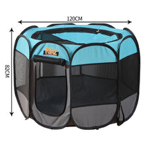 Load image into Gallery viewer, PaWz Dog Playpen Pet Play Pens Foldable Panel Tent Cage Portable Puppy Crate 48""
