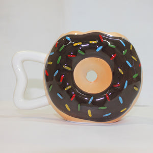 Coffee Cup Vivid Donuts Milk Cup Ceramic Lovers Mug Cute Birthday Gift Chocolate