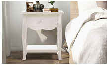 Load image into Gallery viewer, Levede Bedside Table Cabinet Lamp Side Nightstand Unit High Gloss Storage Shelf