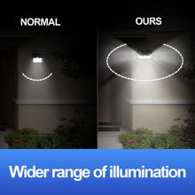 Load image into Gallery viewer, 2x 54LED Solar Power PIR Motion Sensor Security Wall Light Outdoor Garden Lamp