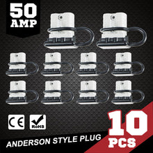 Load image into Gallery viewer, 10X 50 AMP Anderson Power Plug Dust Cap Cover Battery Caravn Solar Connector - My Bonza Deals
