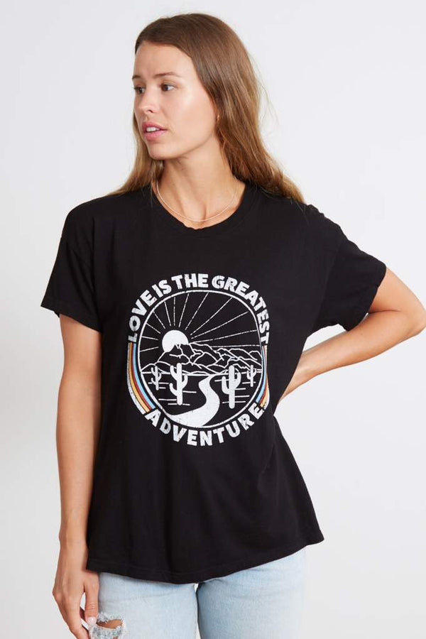 LOVE IS THE GREATEST ADVENTURE TEE