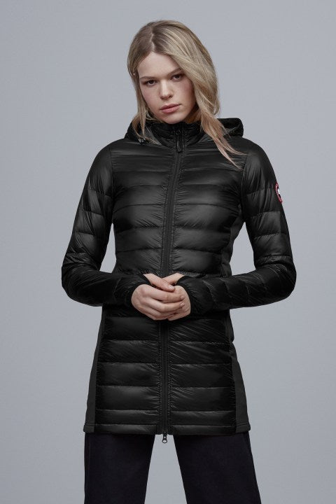 HYBRIDGE LITE DOWN COAT - BLACK