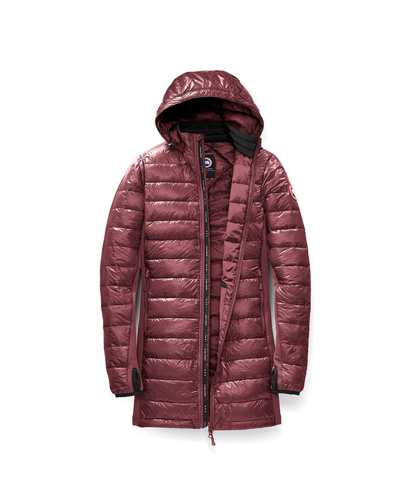 HYBRIDGE LITE DOWN COAT - ELDERBERRY