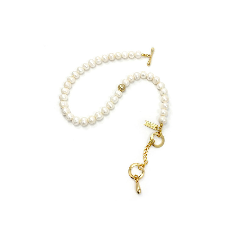 PALOMA PEARL COLLAR - GOLD